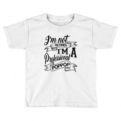 Gift For Professional Poppop Toddler T-shirt Designed By Rardesign