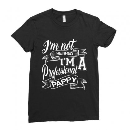 Gift For Professional Pappy Ladies Fitted T-shirt Designed By Rardesign
