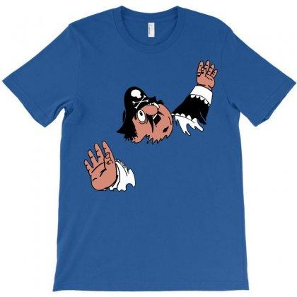 Funny Captain Pugwash T-shirt Designed By Mdk Art