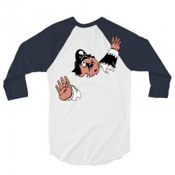 funny captain pugwash 3/4 Sleeve Shirt | Artistshot
