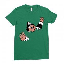 funny captain pugwash Ladies Fitted T-Shirt   Artistshot