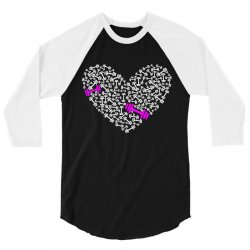love gym pink dumble 3/4 Sleeve Shirt | Artistshot