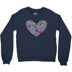 love gym pink dumble Crewneck Sweatshirt | Artistshot