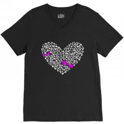 love gym pink dumble V-Neck Tee | Artistshot