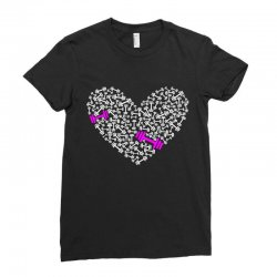 love gym pink dumble Ladies Fitted T-Shirt | Artistshot