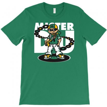 Mister Dj T-shirt Designed By Gematees