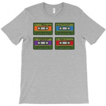 Cassette Retro T-shirt Designed By Gematees