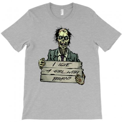 Zombie T-shirt Designed By Gematees