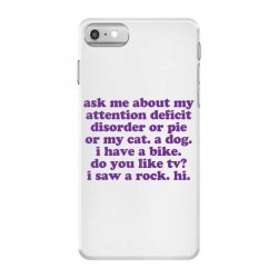 Funny ADHD quote iPhone 7 Case | Artistshot