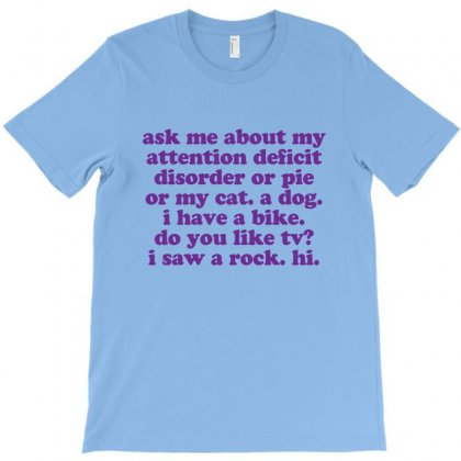 Funny Adhd Quote T-shirt Designed By Jomadado
