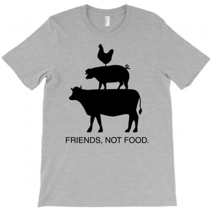 Friends, Not Food T-shirt Designed By Gematees