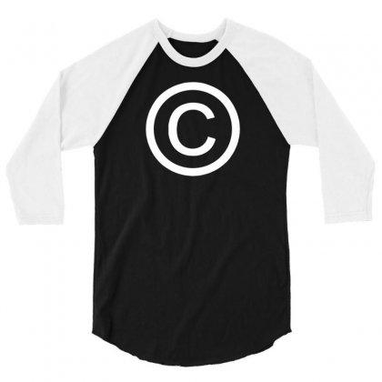 Copyright  Humorous T Shirts 3/4 Sleeve Shirt Designed By Tonyhaddearts