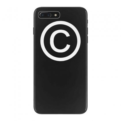 Copyright  Humorous T Shirts Iphone 7 Plus Case Designed By Tonyhaddearts