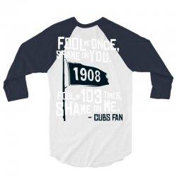 funny chicago cubs 3/4 Sleeve Shirt | Artistshot