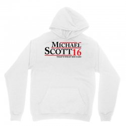 MICHAEL SCOTT 2016 THAT'S WHAT SHE SAID THE OFFICE Unisex Hoodie | Artistshot