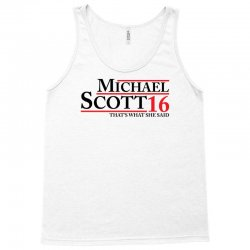 MICHAEL SCOTT 2016 THAT'S WHAT SHE SAID THE OFFICE Tank Top | Artistshot