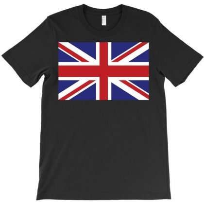Flag Of The United Kingdom T-shirt Designed By Designbysebastian