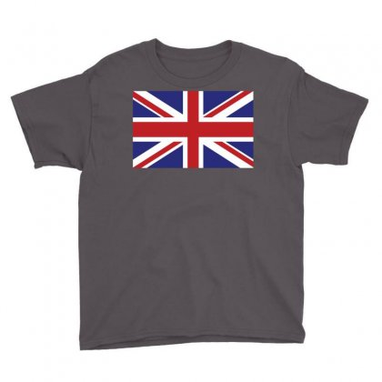 Flag Of The United Kingdom Youth Tee Designed By Designbysebastian