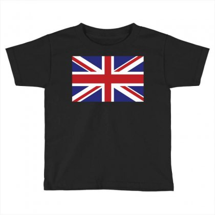 Flag Of The United Kingdom Toddler T-shirt Designed By Designbysebastian
