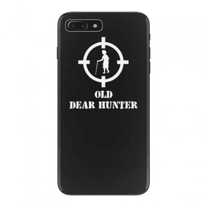 Old Dear Hunter Funny Shoot Iphone 7 Plus Case Designed By Tonyhaddearts