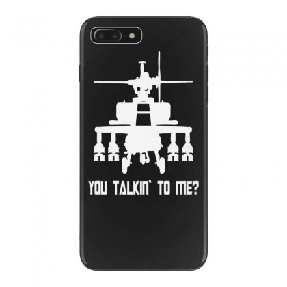 Helicopter T Shirt Funny Taxi Driver Iphone 7 Plus Case Designed By Tonyhaddearts