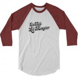 Daddy Lil Monster 3/4 Sleeve Shirt | Artistshot