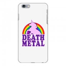 Funny Death Metal Unicorn Rainbow iPhone 6 Plus/6s Plus Case | Artistshot