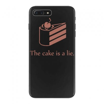Cake Is A Lie Iphone 7 Plus Case Designed By Tonyhaddearts