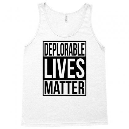 Deplorable Lives Matter Tank Top Designed By Eugene
