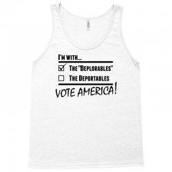 Deplorables America Tank Top | Artistshot