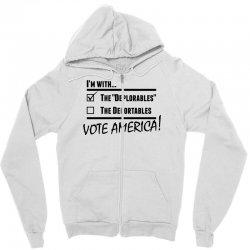 Deplorables America Zipper Hoodie | Artistshot