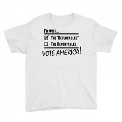 Deplorables America Youth Tee | Artistshot