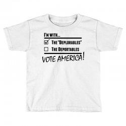 Deplorables America Toddler T-shirt | Artistshot