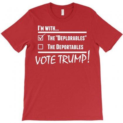 Donald Trump Deplorables T-shirt Designed By Designbysebastian