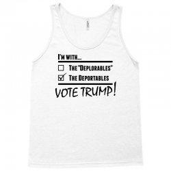 Donald Trump Deportables Tank Top | Artistshot