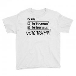 Donald Trump Deportables Youth Tee | Artistshot