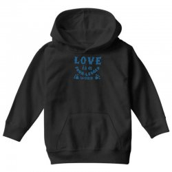 love is a four legged word Youth Hoodie | Artistshot