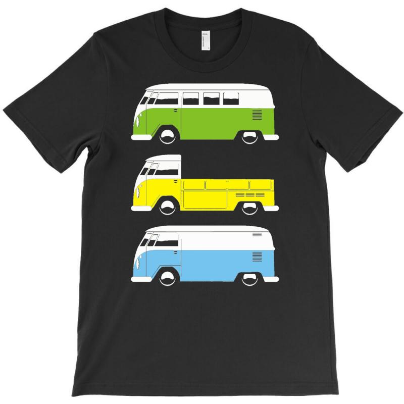 Vw Camper Bus Pick Up Van T-shirt | Artistshot