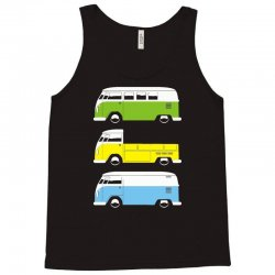 vw camper bus pick up van Tank Top | Artistshot