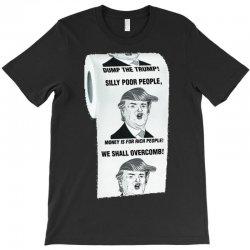 funny donald trump toilet paper T-Shirt | Artistshot