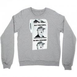 funny donald trump toilet paper Crewneck Sweatshirt | Artistshot