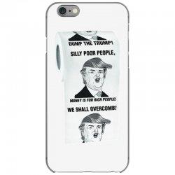 funny donald trump toilet paper iPhone 6/6s Case   Artistshot