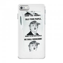 funny donald trump toilet paper iPhone 7 Case   Artistshot