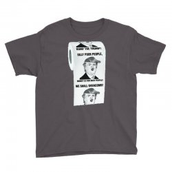 funny donald trump toilet paper Youth Tee   Artistshot