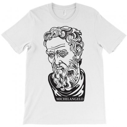 Michelangelo Quote T-shirt Designed By Artist_amateur