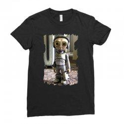 funny alien Ladies Fitted T-Shirt   Artistshot