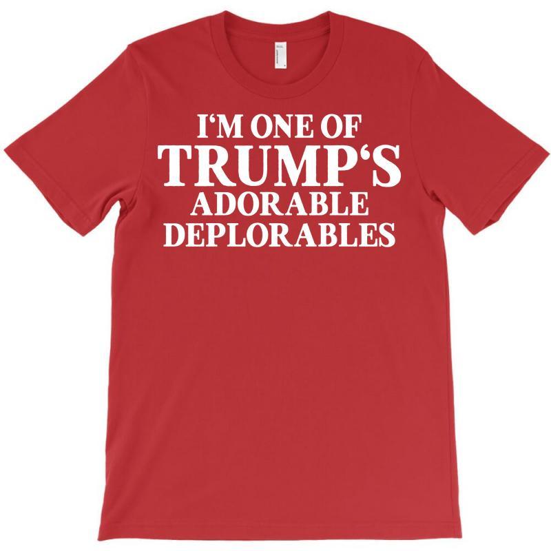 I Am One Of Trumps Adorable Deplorables T-shirt | Artistshot