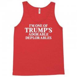 I Am One Of Trumps Adorable Deplorables Tank Top | Artistshot