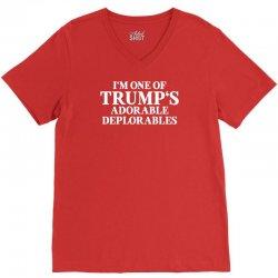 I Am One Of Trumps Adorable Deplorables V-Neck Tee | Artistshot