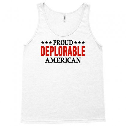 Proud Deplorable American Tank Top Designed By Eugene
